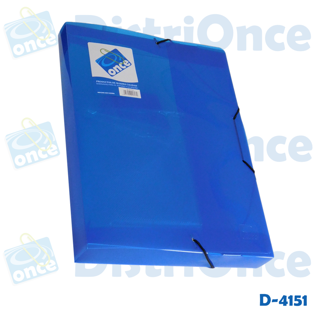 Cajas plásticas para archivar, 5 cm de ancho