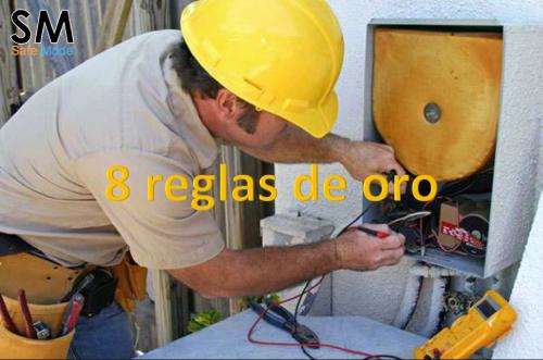 las reglas de oro del riesgo eléctrico