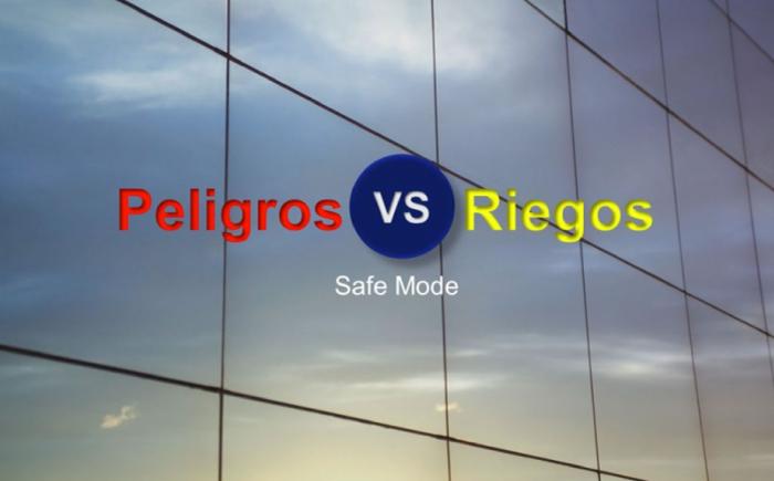 diferencia entre riesgo y peligro