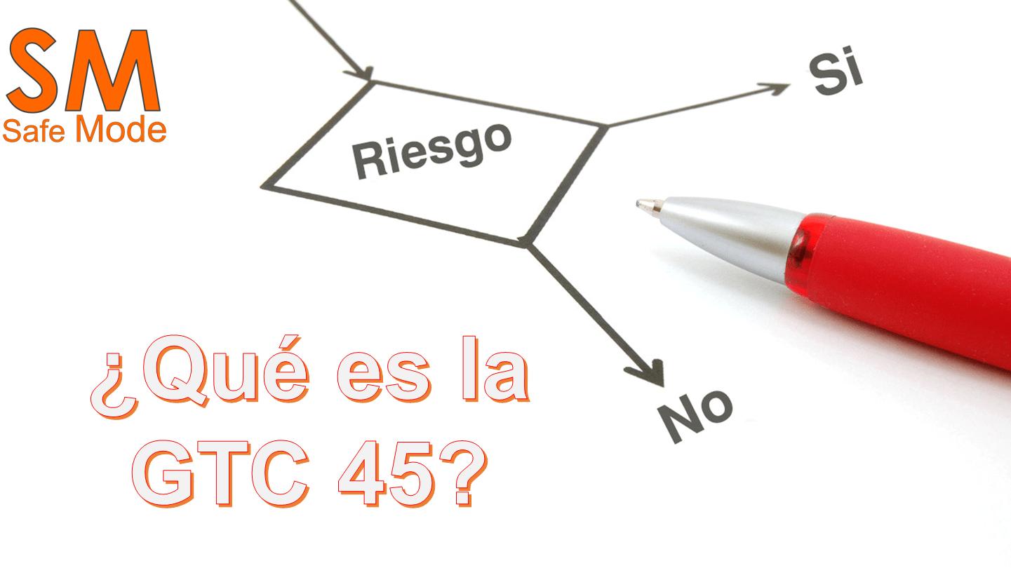 Que es gtc 45 matriz de riesgos