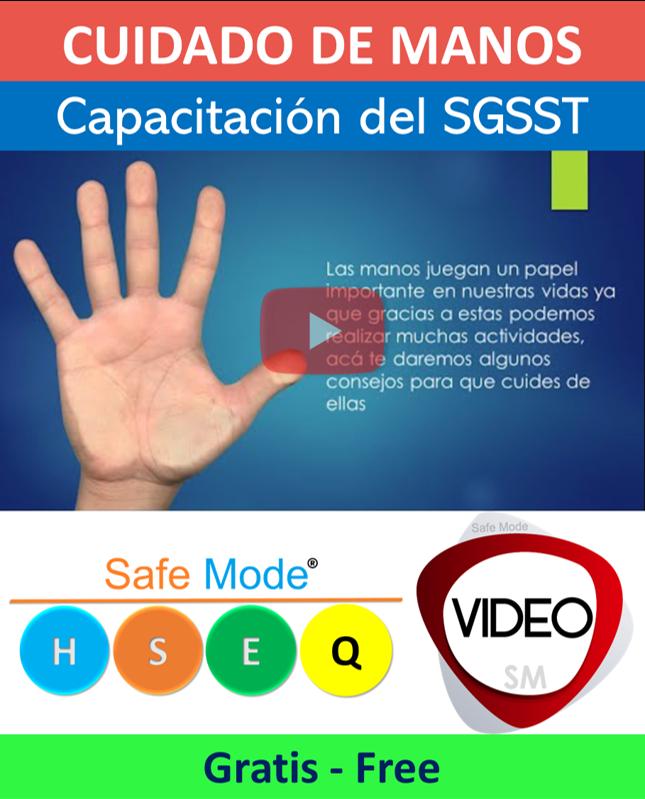 Video de cuidado de manos
