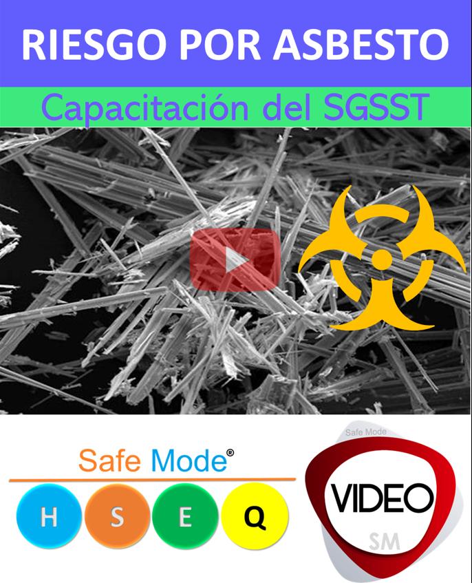video riesgo por asbesto