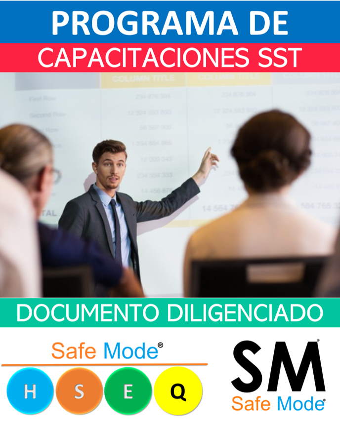 Programa de capacitación anual