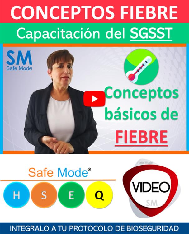 Vídeo Conceptos básicos Fiebre (capacitación virtual)