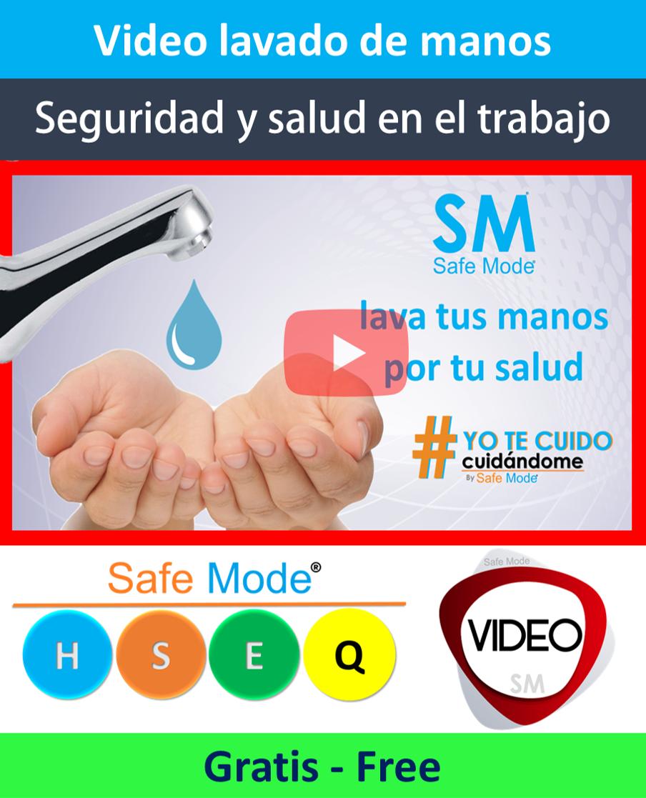 Vídeo lavado de manos - Campaña de salud