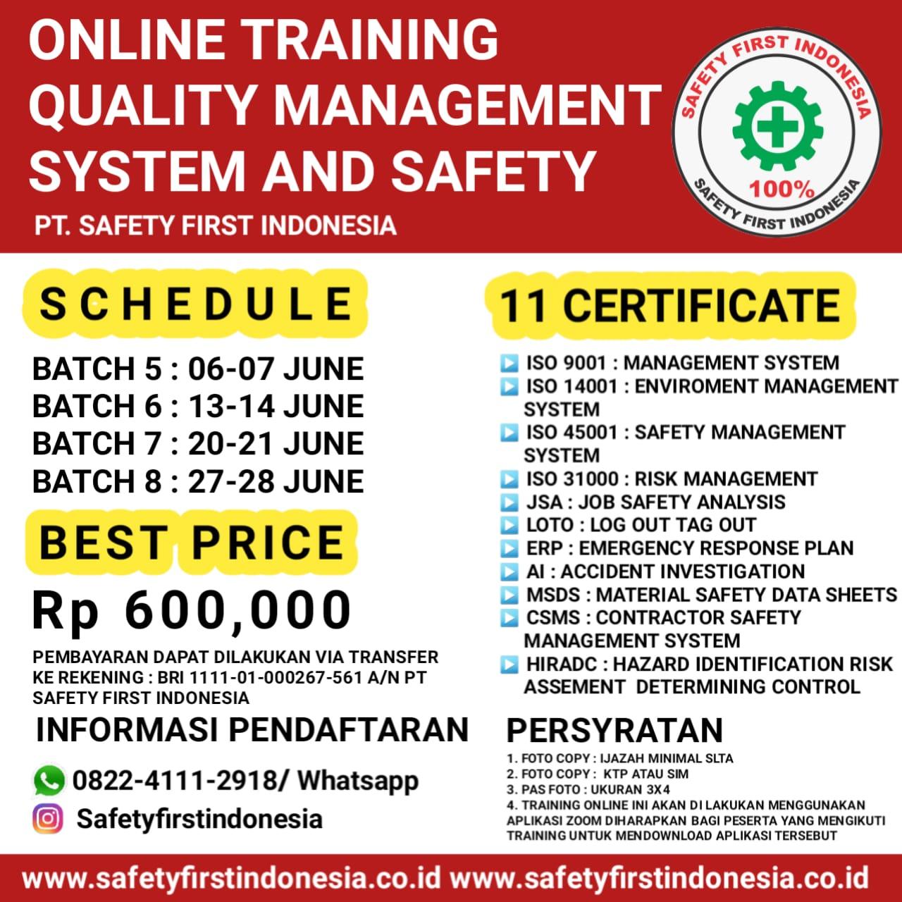 QMS online Juni