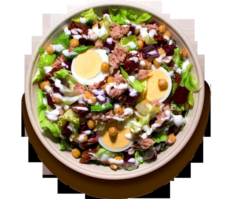 salaty/ S tuňákem