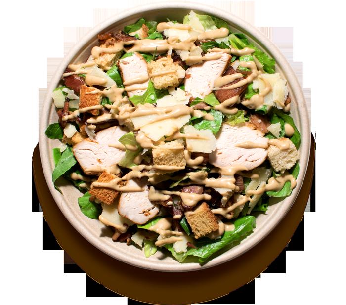 salaty/ CAESAR S KUŘECÍM