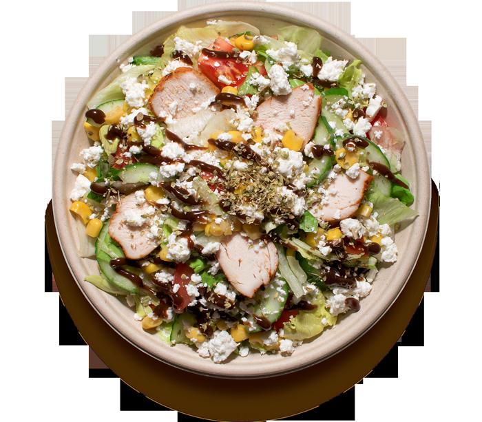 salaty/ S FETA SÝREM
