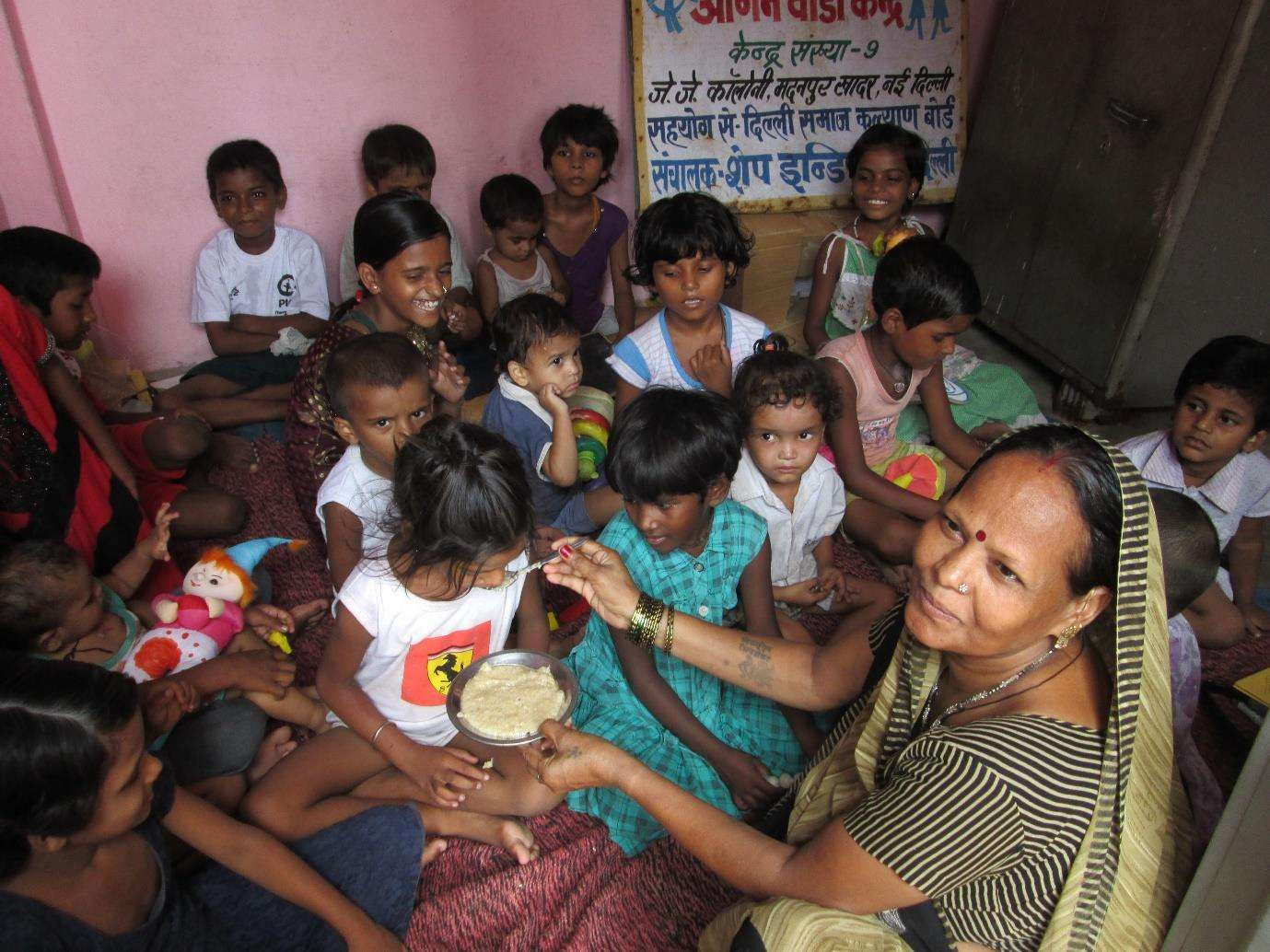 shape india project Supplementary Nutrition Food for Children (SNF)