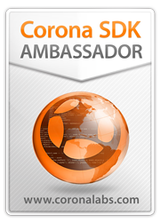 Corona SDK Ambassador