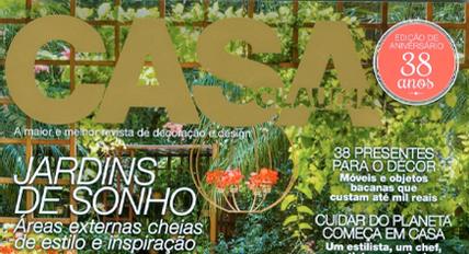 Veda Saco é destaque na revista Casa Claudia de maio