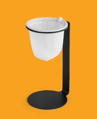 Mini Colador de Café con Filtro de Tela