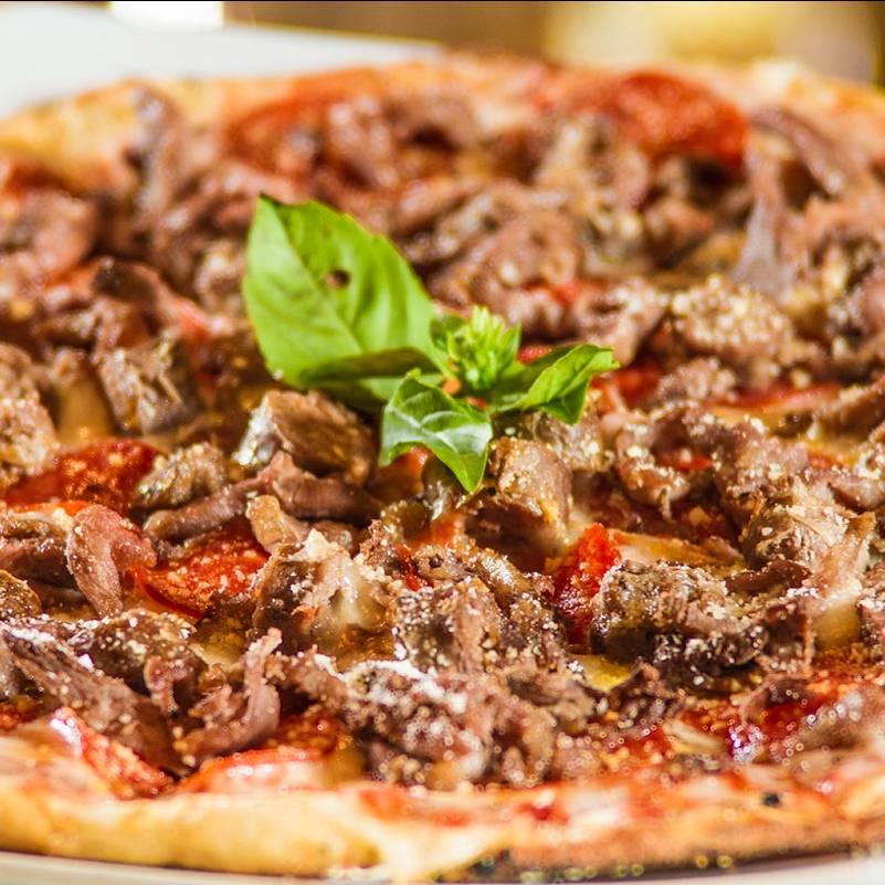 Pizza de arachera