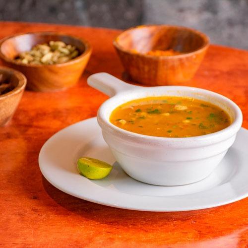 Muligatawny Mughai Soup.