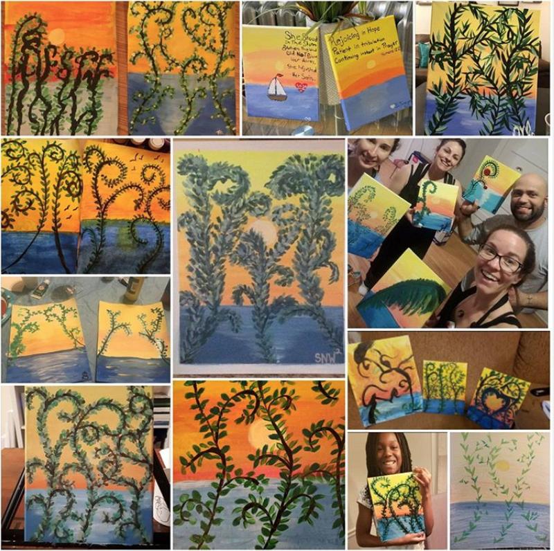 Virtual Paint Parties & Art Classes with Liz! 2