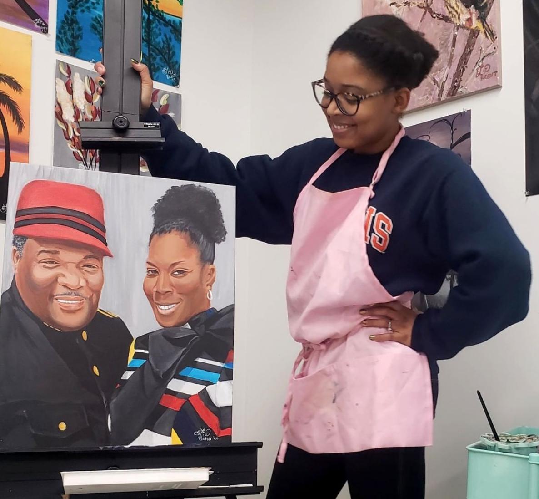 Virtual Paint Parties & Art Classes with Liz! 5