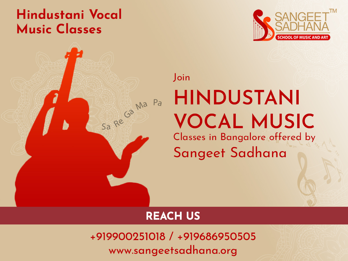 Sangeet Sadhana - Hindustani Classical Music classes and Vocal Music classes in Bangalore 4