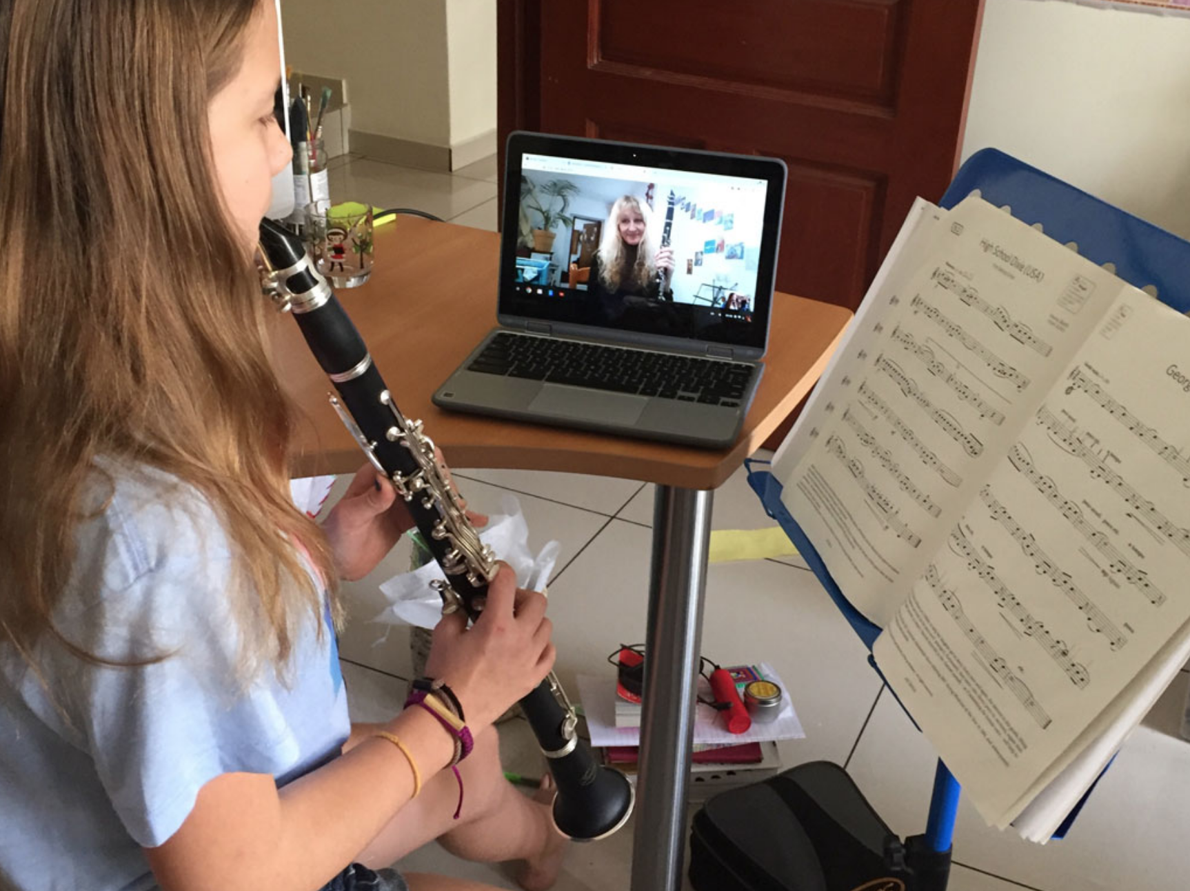 Clarinet, Saxophone, Flute, or Piano Lessons with a Juilliard Music Educator | For Homeschooling & Distance Education 3