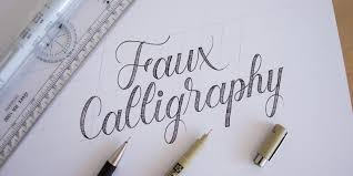 Faux Calligraphy Camp  for Kids 1