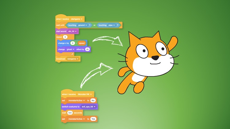 Scratch Coding for Kids (8 - 11 yrs) 1