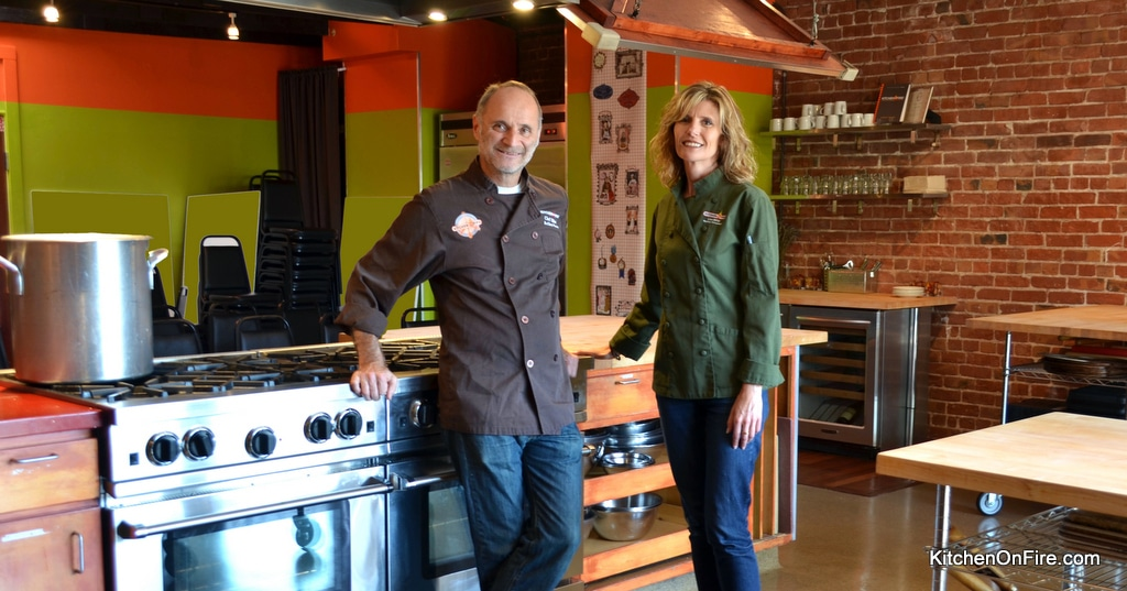 Kitchen on Fire - Award-Winning Classes since 2005. Where cooking is fun! 1