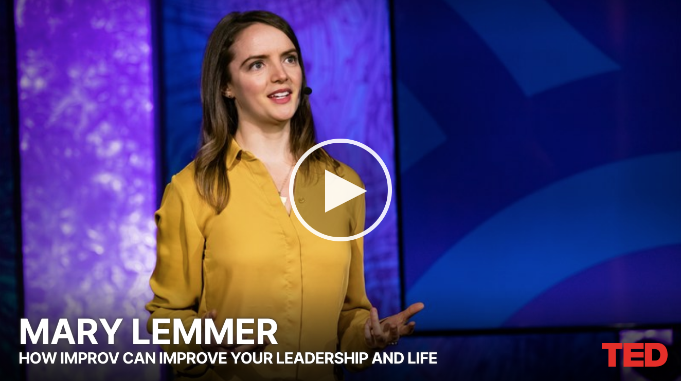 Improv That Can Improve Your Leadership & Life with Entrepreneur, Former VC, & Improv Comedian, Mary Lemmer 2
