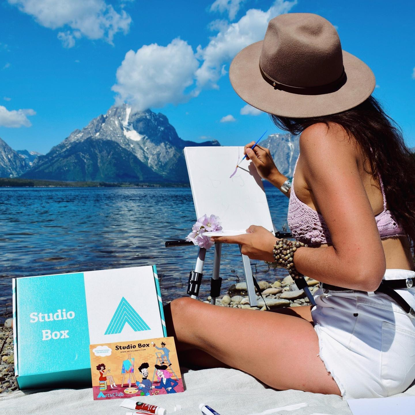Integrate Art & Cultural Events Into Your Social Routine Easier with ArtsClub | Art Supplies Included 1