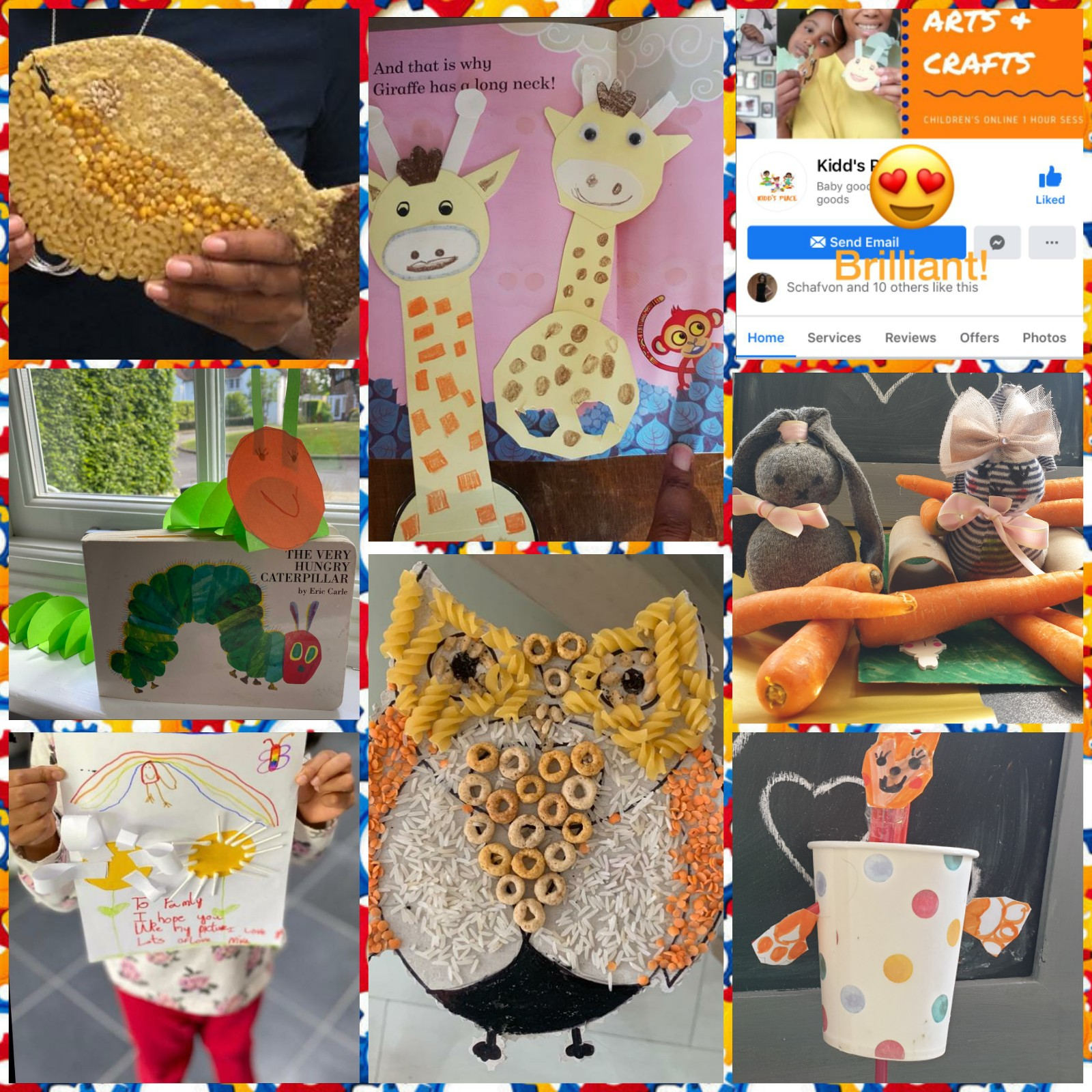Online Arts and Crafts Sessions for Children | Free Trial Session Available 2