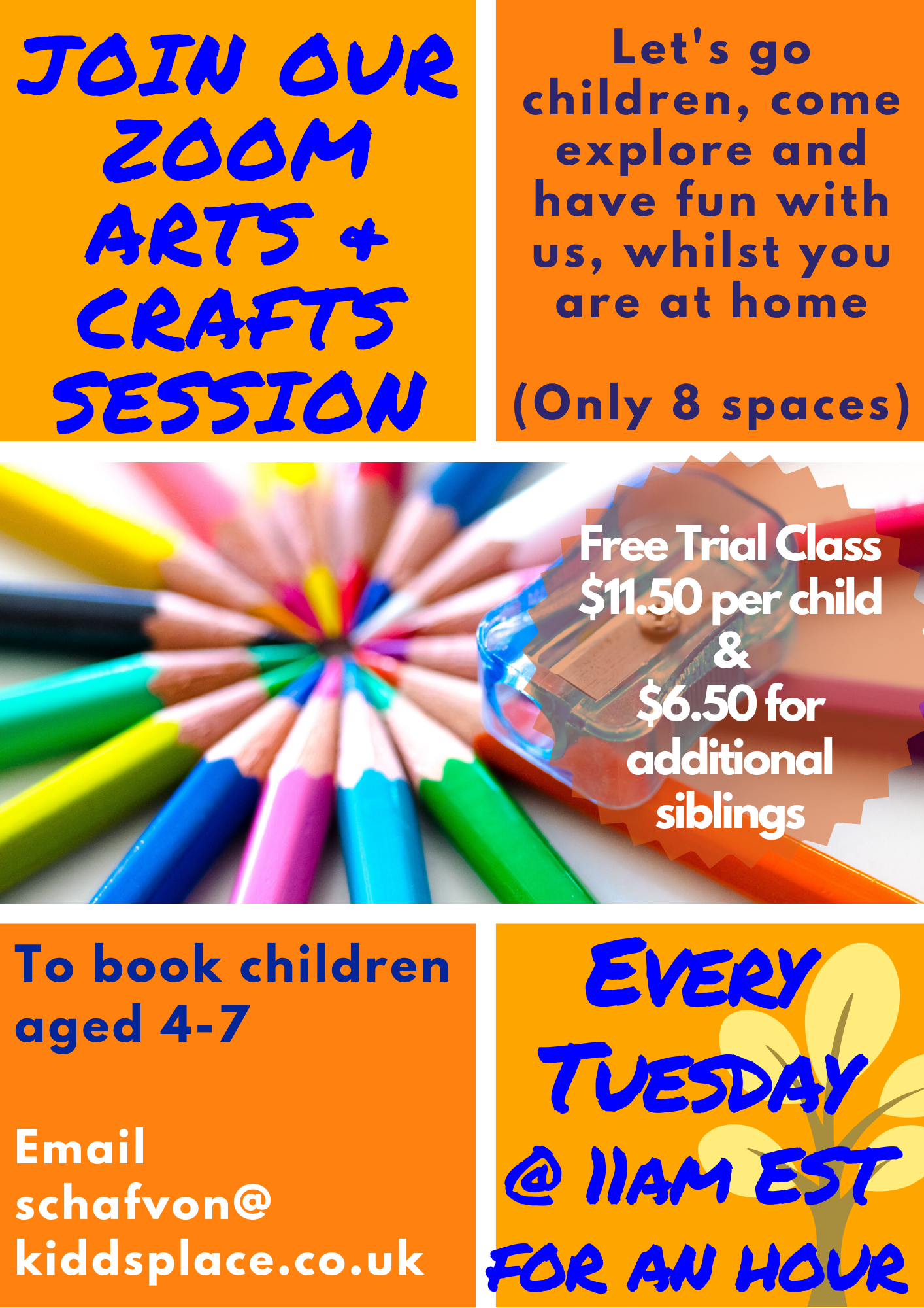 Online Arts and Crafts Sessions for Children | Free Trial Session Available 3