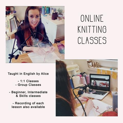 Online Knitting Classes | Beginner & Intermediate | 1:1 & Group Classes 4