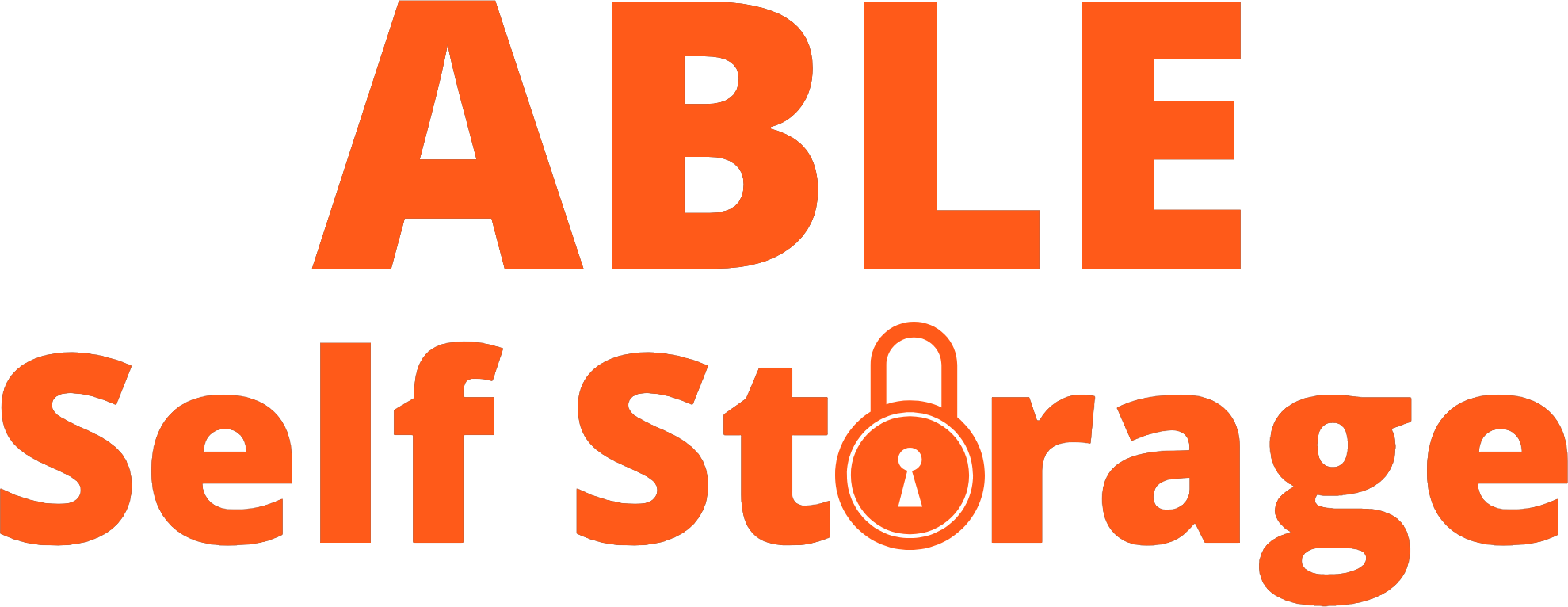 Logo for Able Self Storage, click to go home