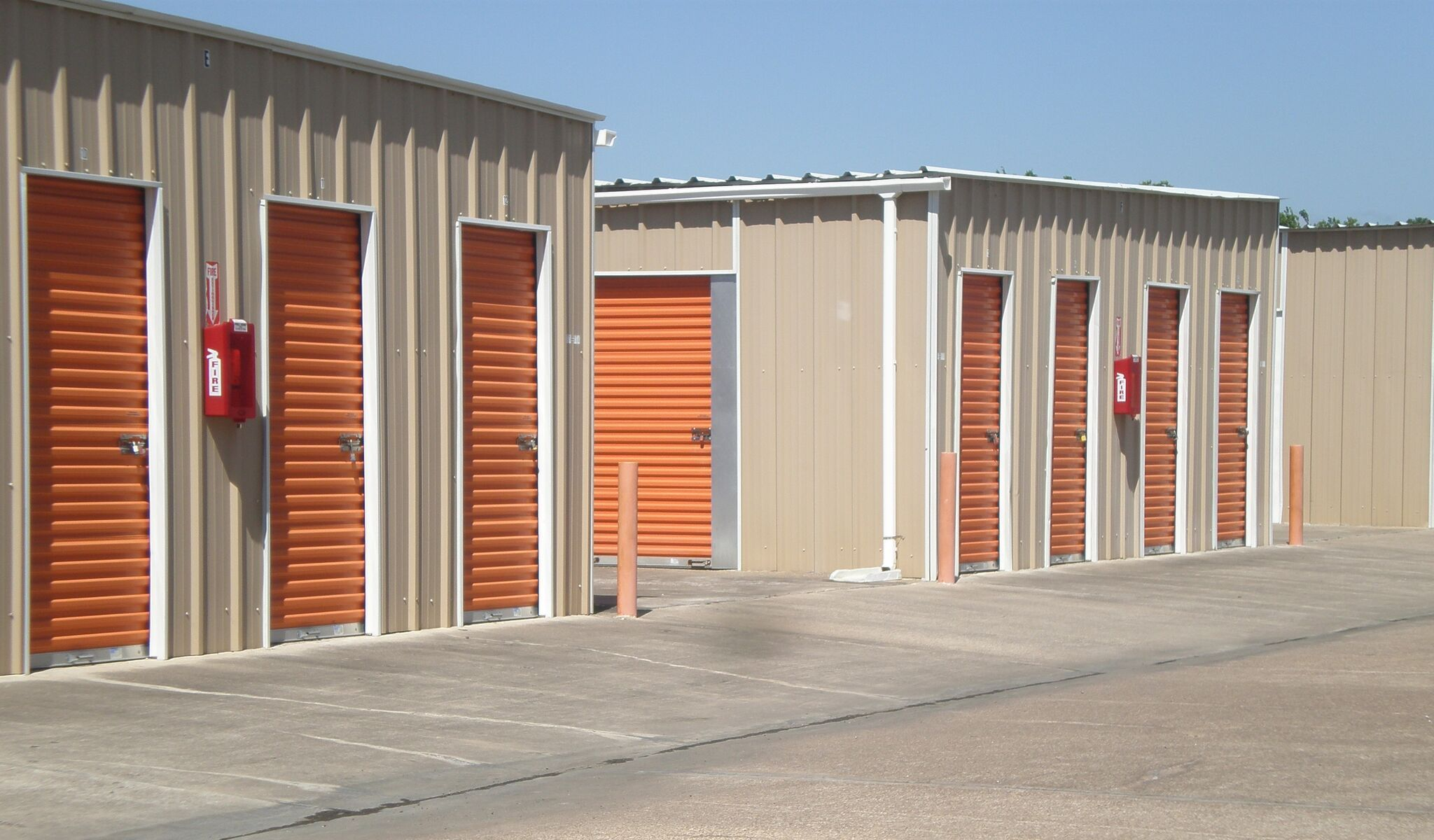View of Able Self Storage - Pearland