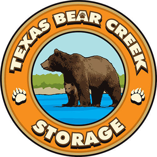 Logo for Texas Bear Creek Storage, click to go home