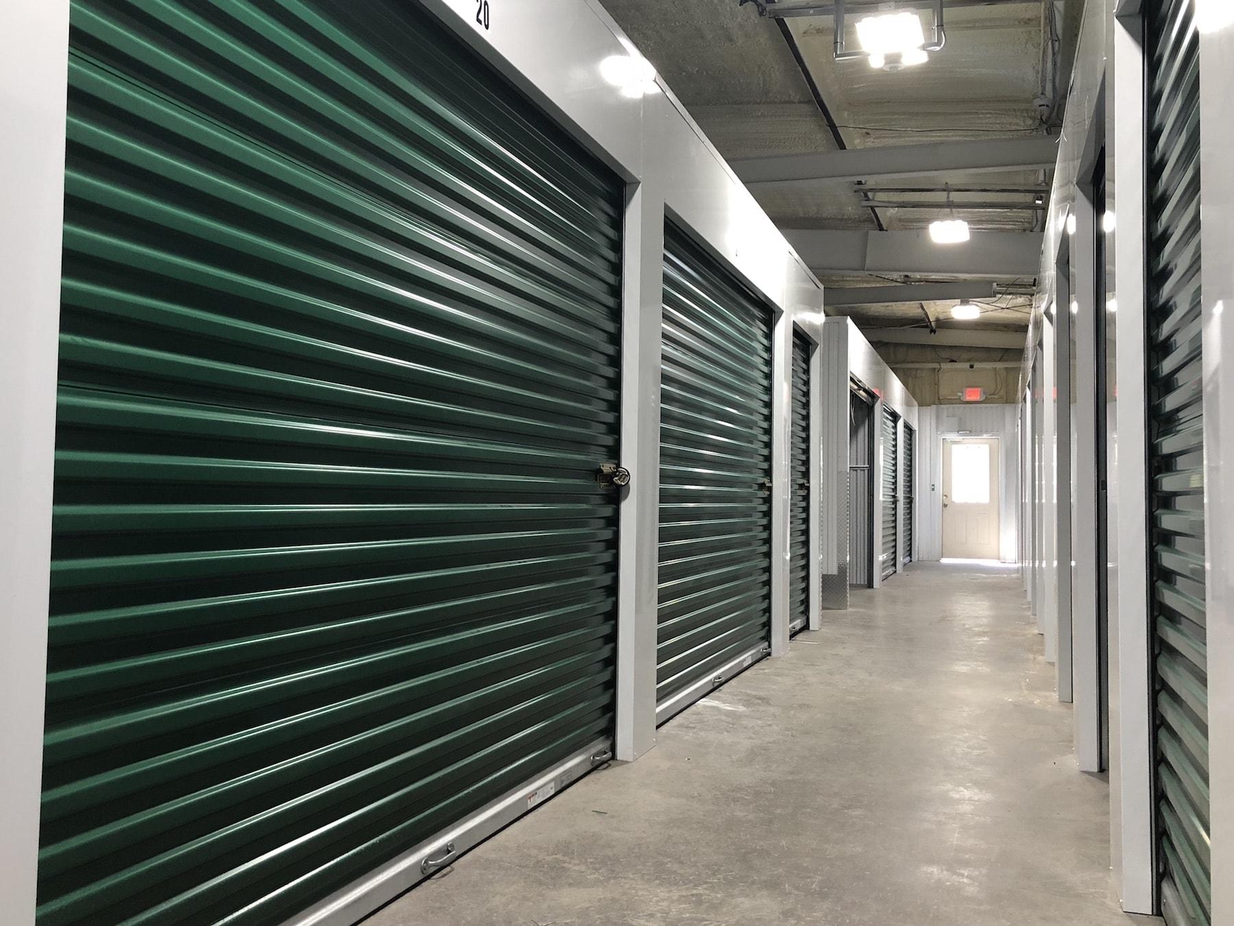 View of Hunter Road Self Storage - Ooltewah
