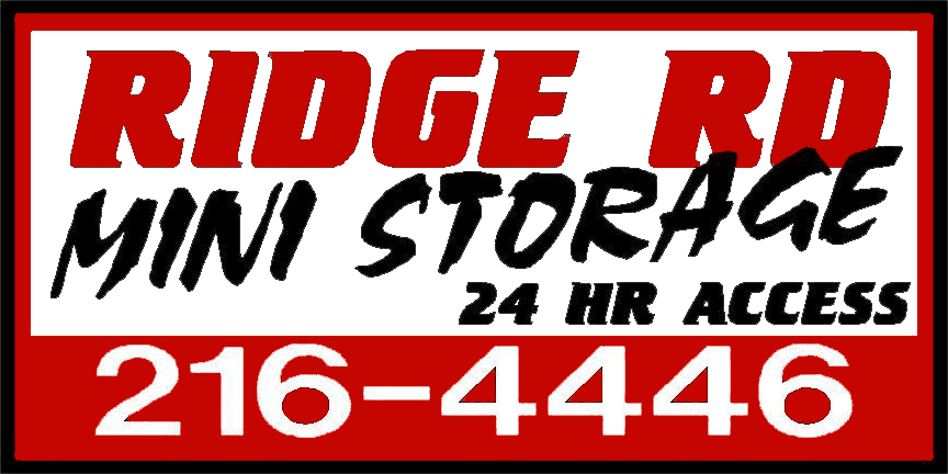 Logo for Ridge Road Mini Storage, click to go home