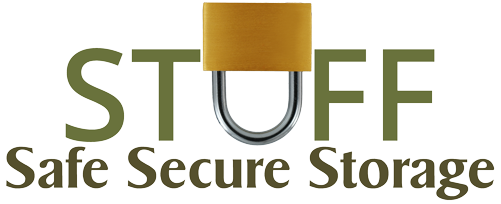 Logo for Stuff Safe Secure Storage, click to go home