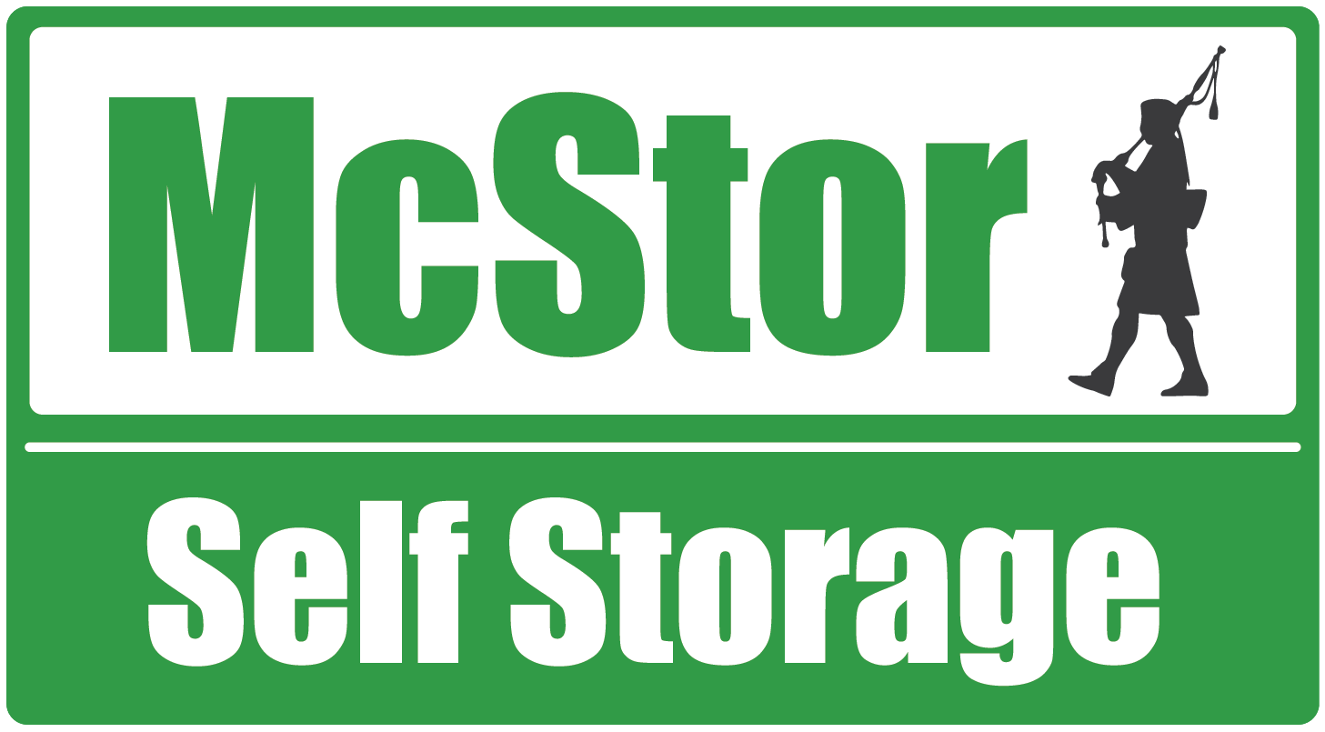 Logo for McStor Self Storage, click to go home