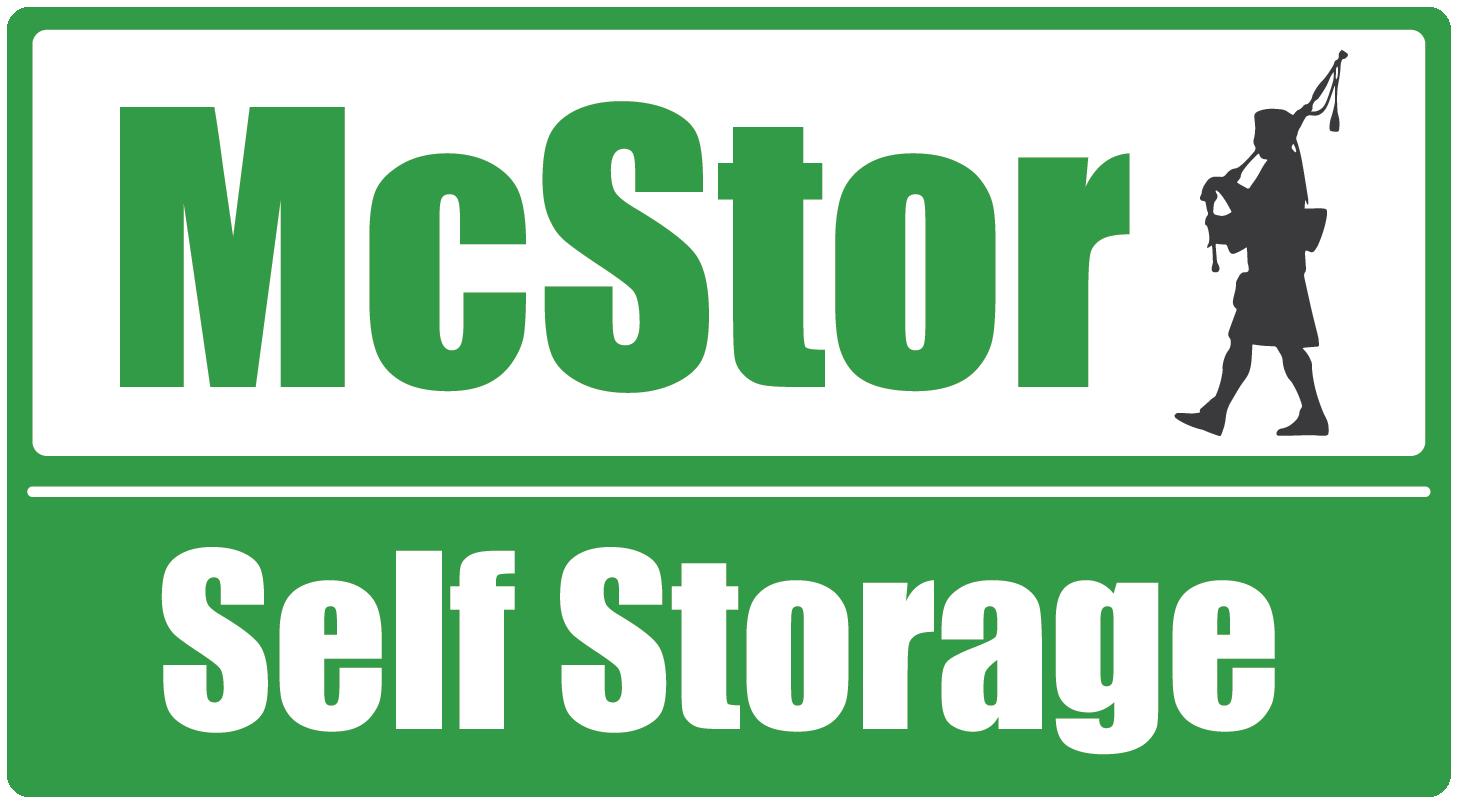 Logo for McStor Self Storage, click to go home