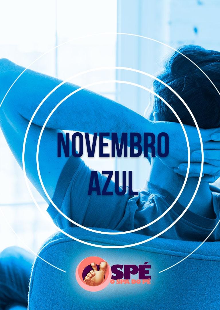 novembro azul, cancer de Próstata, SPÉ na luta