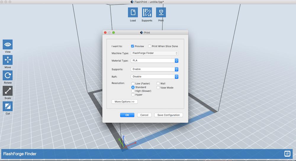 Set 3D Settings