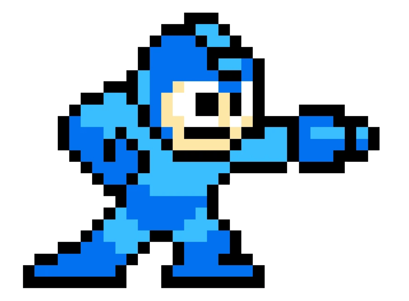 Video Game Pixel Character