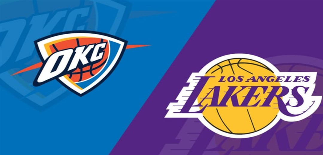 L.A Lakers defeat OKC Thunder 128/99 to record 7th win on the road