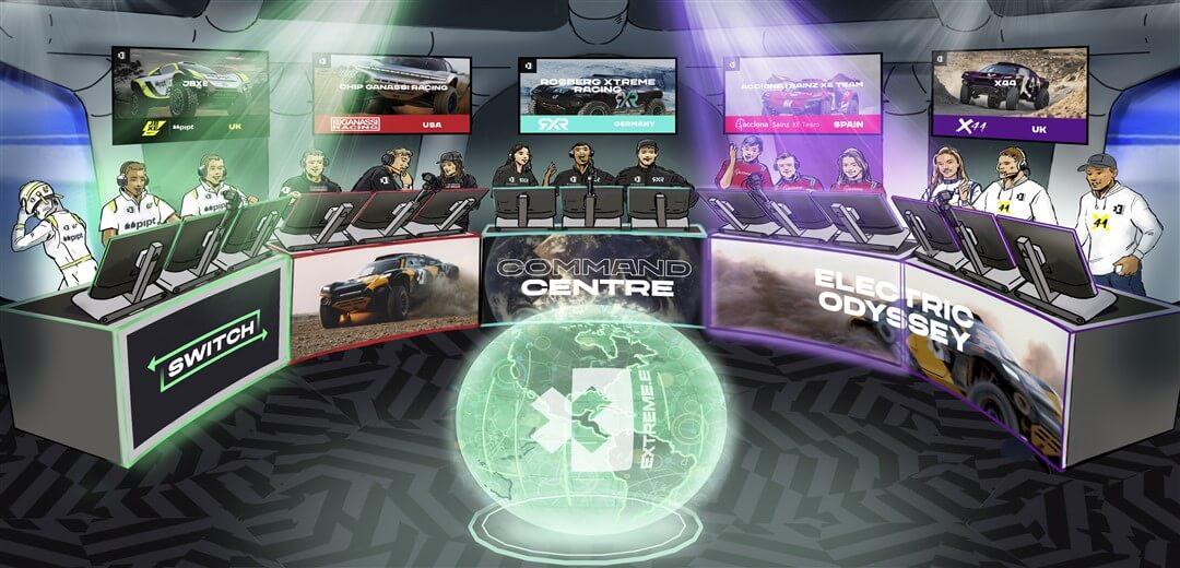 Extreme E unveils their cutting edge 'Command Centre'