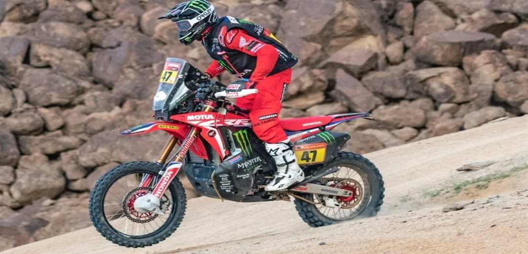 Overall victory for Honda and Kevin Benavides at the Dakar Rally