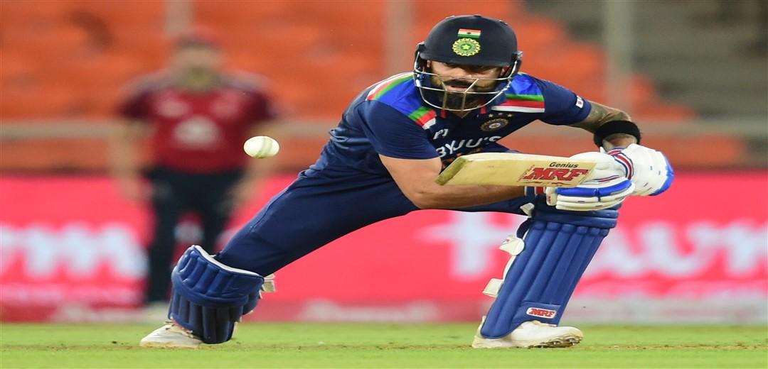 Kohli plays blinder as India finish on 156 for 6 vs England