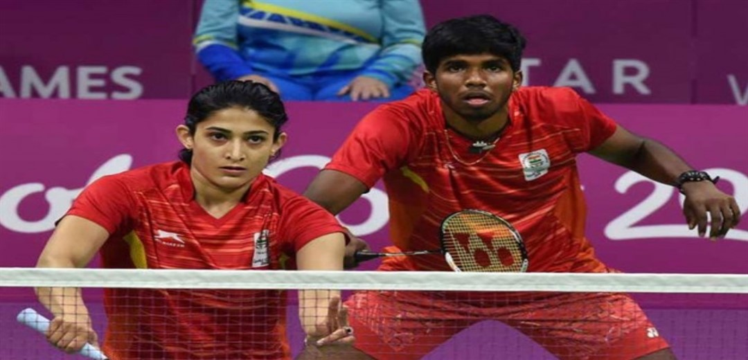 Rankireddy-Ponappa enter Thailand Open mixed doubles semifinals with upset win