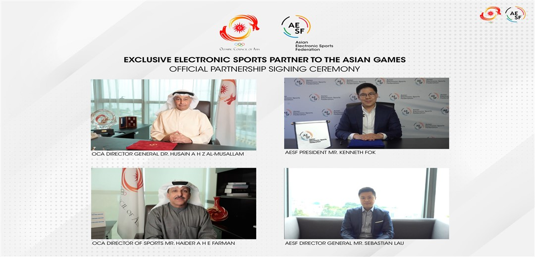 Road to Asian Games campaign for 2022 Asian Games introduced by Olympic Council of Asia and AESF