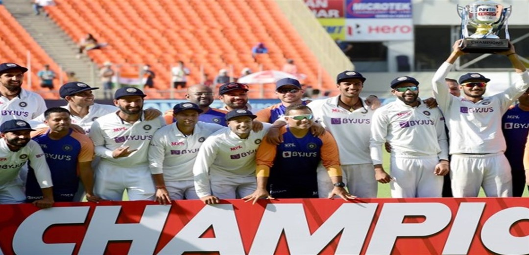 India finish on top of ICC World Championship standings, courtesy 3-1 series win over England