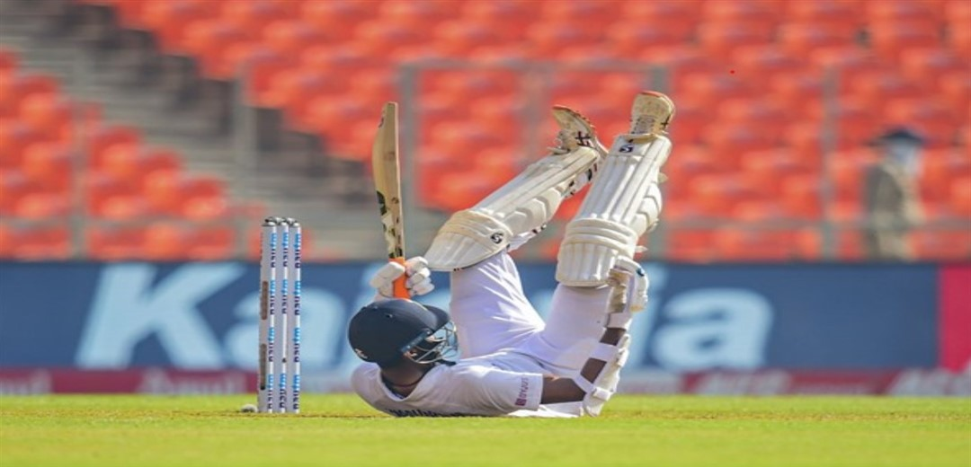 Washington stranded on 96 as India score 365, England 6 for no loss at lunch
